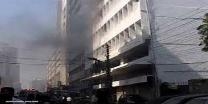 Karachi fire - The News Today-TNT