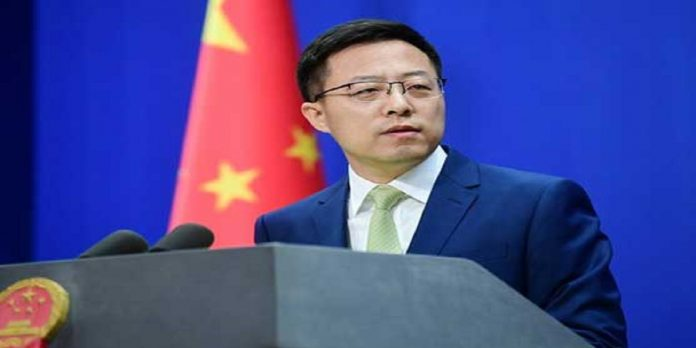 Zhao Lijian, Chinese spokesperson - The News Today - TNT