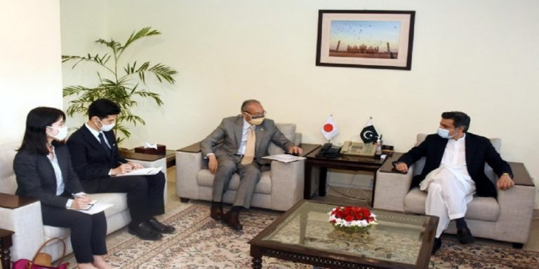 Japanese Envoy, Finance Minister Review issues of bilateral interests