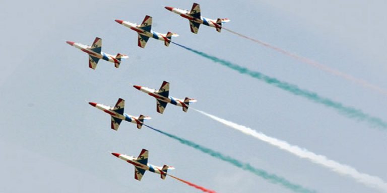 Air Force Day being observed with traditional zeal