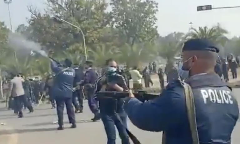 Heirs protest after police guns down milk seller in Capital
