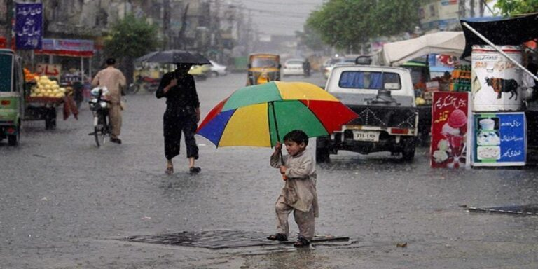 Rainfall likely from tomorrow Friday to Sunday in upper, central parts of Pakistan