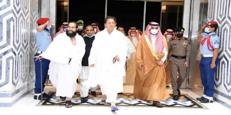 PM Imran Khan reaches Jeddah, to perform Umrah at Makkah