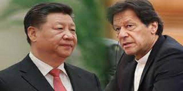 Prime Minister Imran Khan speaks with President Xi Jinping